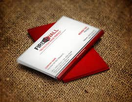 nº 34 pour Design some Business Cards for firewall par RERTHUSI