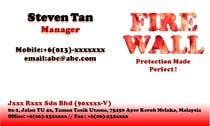 Contest Entry #15 for Design some Business Cards for firewall