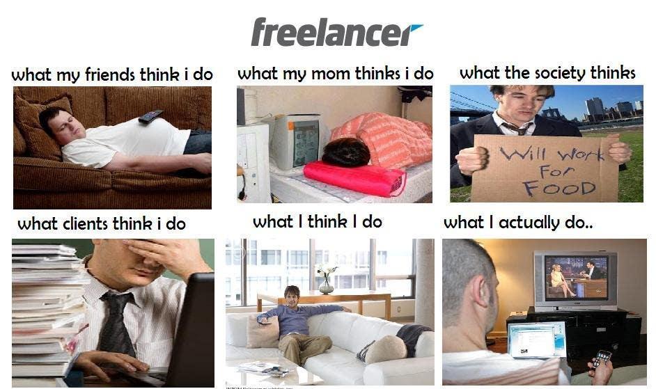 Конкурсная заявка №11 для Graphic Design for What a Freelancer does!