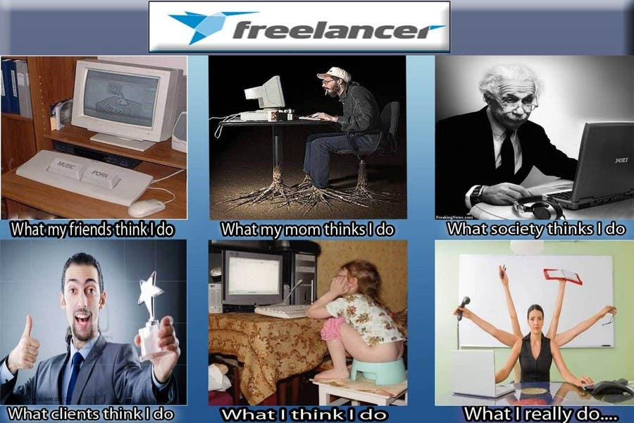 Конкурсная заявка №37 для Graphic Design for What a Freelancer does!