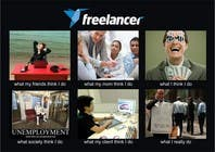 Graphic Design Contest Entry #132 for Graphic Design for What a Freelancer does!