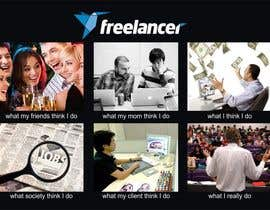 #109 untuk Graphic Design for What a Freelancer does! oleh rainy14dec