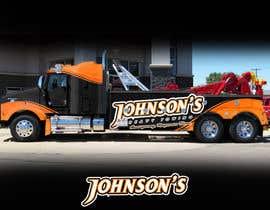 Nro 5 kilpailuun Tow Truck Wrap Design käyttäjältä RaihanMuhammad