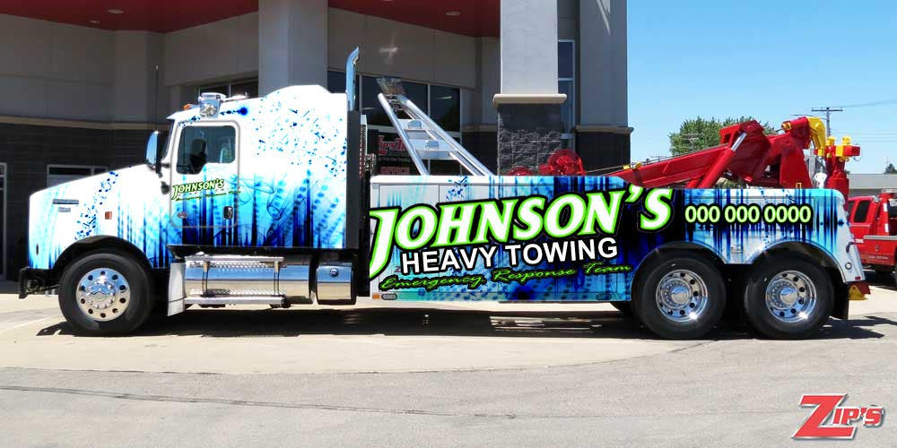 Kilpailutyö #21 kilpailussa Tow Truck Wrap Design