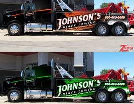 Nro 2 kilpailuun Tow Truck Wrap Design käyttäjältä Vrendengard