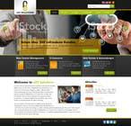Bài tham dự #6 về Graphic Design cho cuộc thi Design a Website Mockup for IT Company