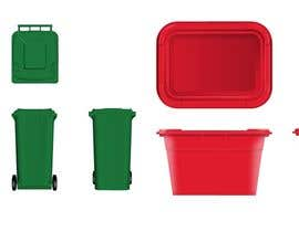 terstill tarafından Design a Wheelie Bin in any colour with different views için no 38