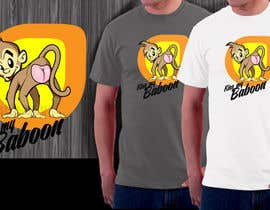 #12 for Design a T-Shirt with a funny monkey theme. af totta00spy