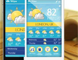 #24 untuk I need some Graphic Design for a Weather Applicaiton oleh MagicalDesigner