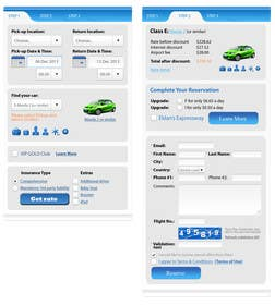 "#14 untuk Design a Website Mockup for Car Rental ""MOBILE ONLY"" oleh okakzai"