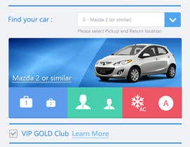 "#5 untuk Design a Website Mockup for Car Rental ""MOBILE ONLY"" oleh thewolfmenrock"