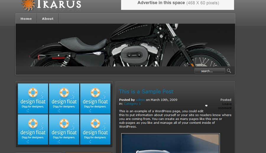 Inscrição nº                                         1                                      do Concurso para                                         Biker Website