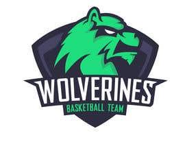 Nro 55 kilpailuun Design a logo for the Wolverines childrens basketball team käyttäjältä ShuOouma