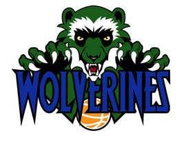Nro 20 kilpailuun Design a logo for the Wolverines childrens basketball team käyttäjältä Valdz