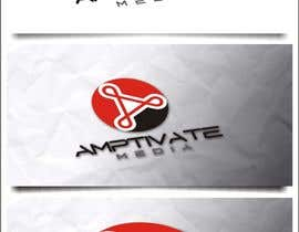 nº 145 pour Design a Logo for Amptivate Media par indraDhe