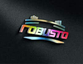 #74 untuk ROBUSTO logo design and metalic paint label design oleh TOPSIDE