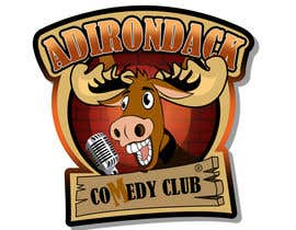 #107 para Logo Design for Adirondack Comedy Club por rogeliobello
