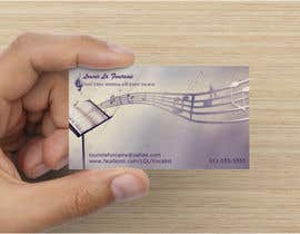 #36 para Design some Business Cards for Event Vocalist por Sunshine798