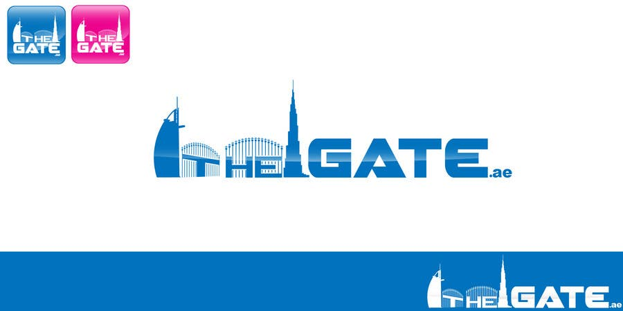 #174 for Design a Logo for Thegate.ae by kingryanrobles22