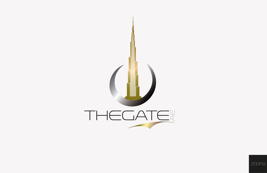 #157 for Design a Logo for Thegate.ae by zoopa