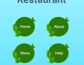 Nro 2 kilpailuun Design a Mobile Restaurant Homepage Mockup käyttäjältä duongdv