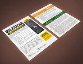 #1 for Design a One-Page Marketing Handout by rimskik