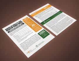 #18 for Design a One-Page Marketing Handout by rimskik
