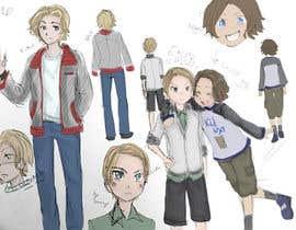 Nro 9 kilpailuun Cartoon Characters Concept Art käyttäjältä Ozuu