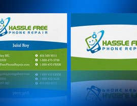 #70 for Design some Business Cards for HassleFree. by linokvarghese