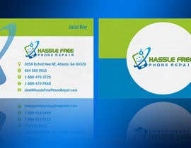 #83 for Design some Business Cards for HassleFree. by linokvarghese