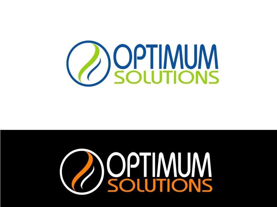 #42 for Design a Logo for OPTIMUM-SOLUTIONS by tfdlemon