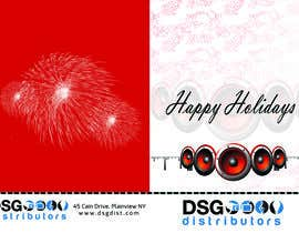 nº 25 pour Design a holiday greeting card par masterkeybd