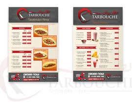Nro 22 kilpailuun Design a Menu for a juice bar and fast food käyttäjältä glazaropoulos