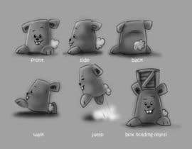 #25 cho Character Design: Combination of a Bunny and a Bear bởi adrianhurtado