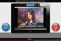 Contest Entry #20 for Design a Website Mockup for domain Ladyboygame.com