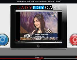 #20 untuk Design a Website Mockup for domain Ladyboygame.com oleh era67