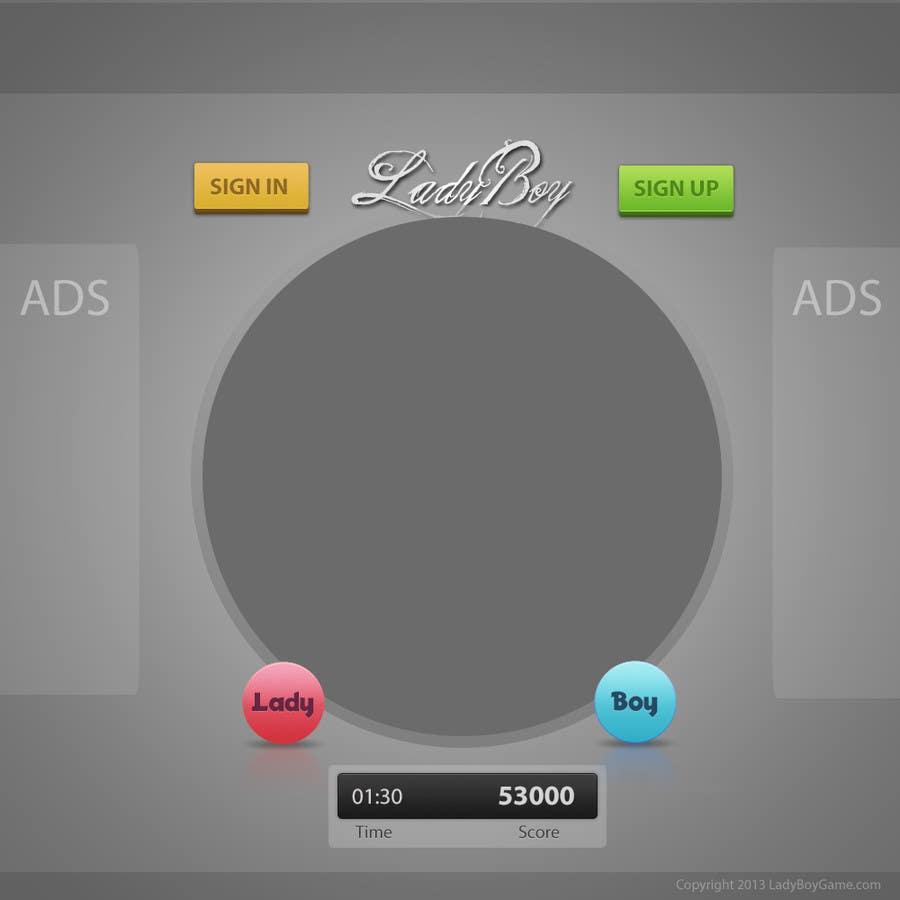 #29 for Design a Website Mockup for domain Ladyboygame.com by behisoft