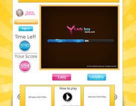 #56 cho Design a Website Mockup for domain Ladyboygame.com bởi dreamstudios0