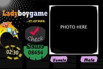Contest Entry #35 for Design a Website Mockup for domain Ladyboygame.com