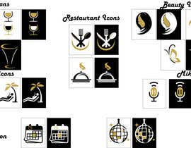 Nro 6 kilpailuun Design some Icons - Follow design guide käyttäjältä Rightwaydesign