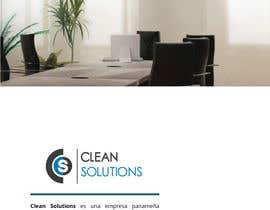 Nro 5 kilpailuun Design a Brochure - Cleaning Company käyttäjältä adrieng