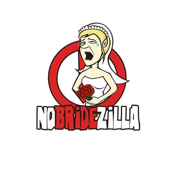 Kilpailutyö #37 kilpailussa BrideZilla Logo