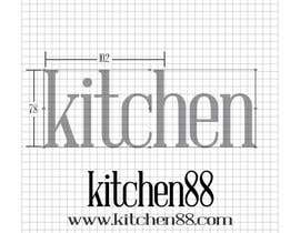 #113 cho Design a Logo for www.kitchen88.com bởi chychai