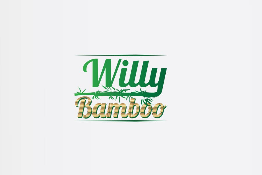Kilpailutyö #9 kilpailussa Design a Logo for Willy Bamboo