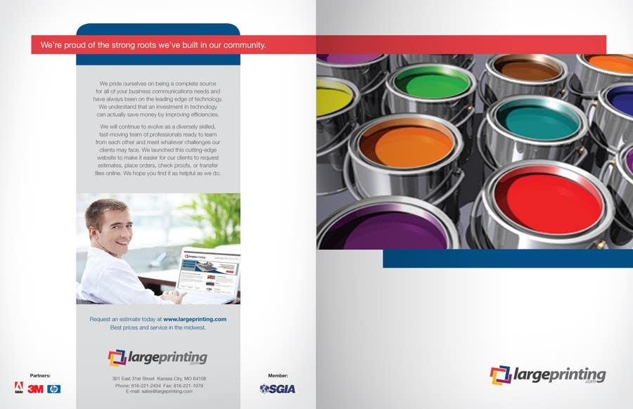 Penyertaan Peraduan #1 untuk Products and Services Brochure