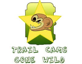 nº 37 pour Design a Logo for Trail Cams Gone Wild par saiprasannamenon
