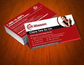 #78 para Design Business Card Using Our Logo Already designed por rajnandanpatel