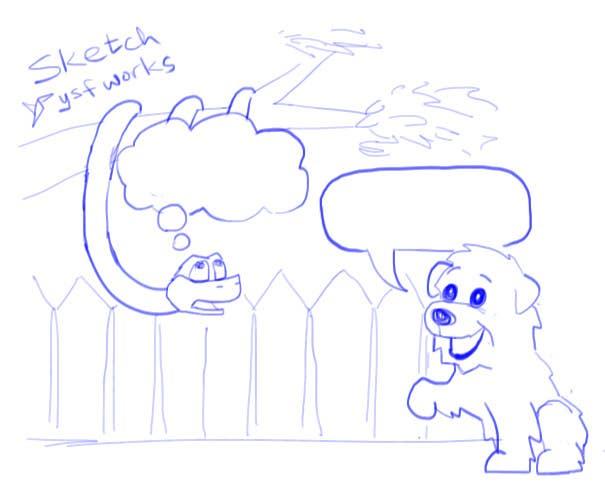 """Kilpailutyö #2 kilpailussa Illustrate something for """"Puppy and Boa"""""""