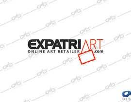 Nro 119 kilpailuun Design a Logo for ExpatriArt käyttäjältä OmB