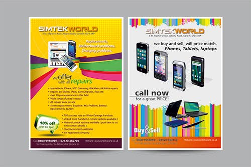 #17 for Good Design a Flyer for SimTek World Ltd by graphics15